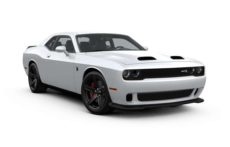Challenger SRT Hellcat 2019-White-Knuckle