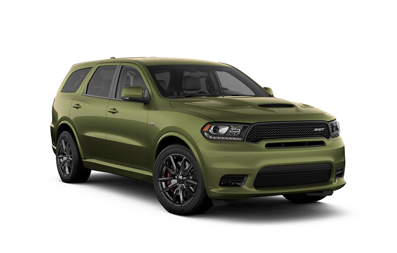 Durango SRT AWD 2019-F8-Green