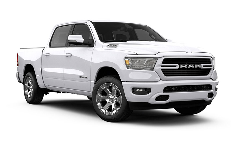 Ram 1500 Big Horn-Bright-White