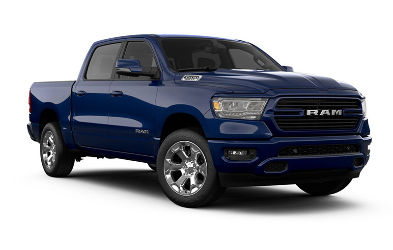 Ram 1500 Big Horn-Patriot-Blue-Pearl