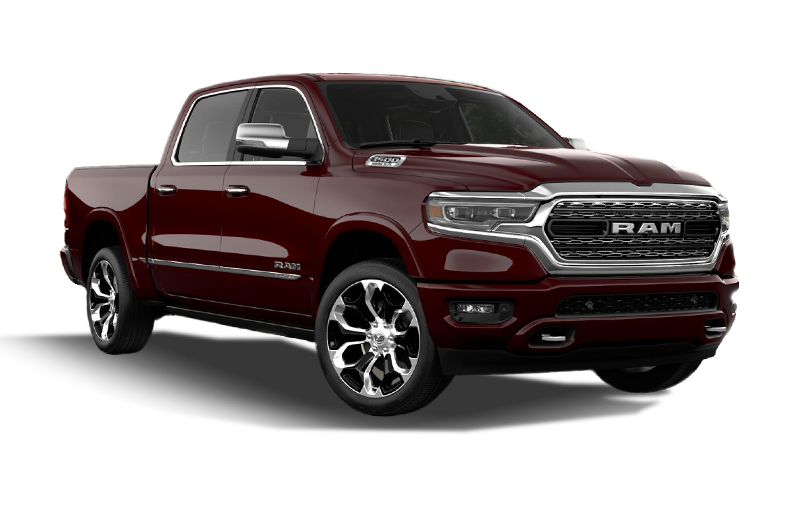 Ram 1500 Limited-Delmonico Red Pearl