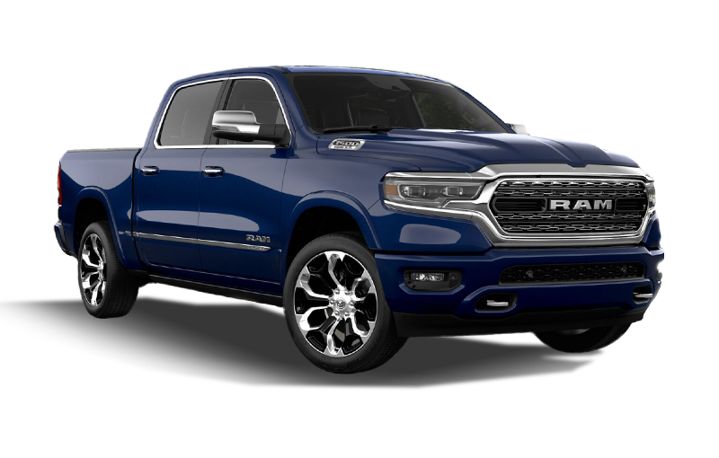 Ram 1500 Limited-Patriot Blue Pearl