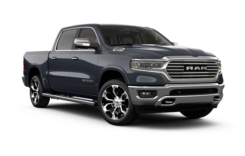 Ram 1500 Longhorn-Maximum Steel metallic