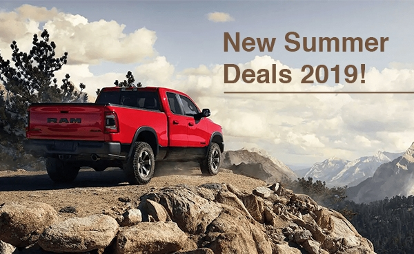 NEW RAM 1500 2019 SUMMER DEALS